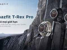 Đồng hồ thông minh Amazfit T-Rex Pro bền bỉ chuẩn quân đội, pin 18 ngày