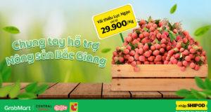 Big C và Grab Việt Nam chung tay hỗ trợ nông sản Bắc Giang