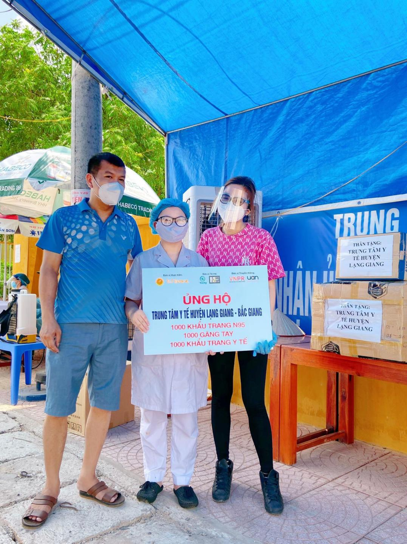 Cộng đồng Marketing – PR quyên góp cho y bác sĩ Bắc Ninh – Bắc Giang