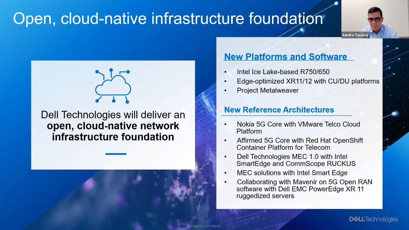 Dell Technologies hỗ trợ các nhà cung cấp dịch vụ viễn thông