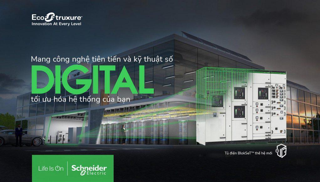 Schneider Electric giới thiệu thế hệ tủ điện hạ thế BlokSeT
