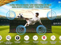 Sony Việt Nam khuyến mãi chào đón giải vô địch bóng đá Châu Âu 2021