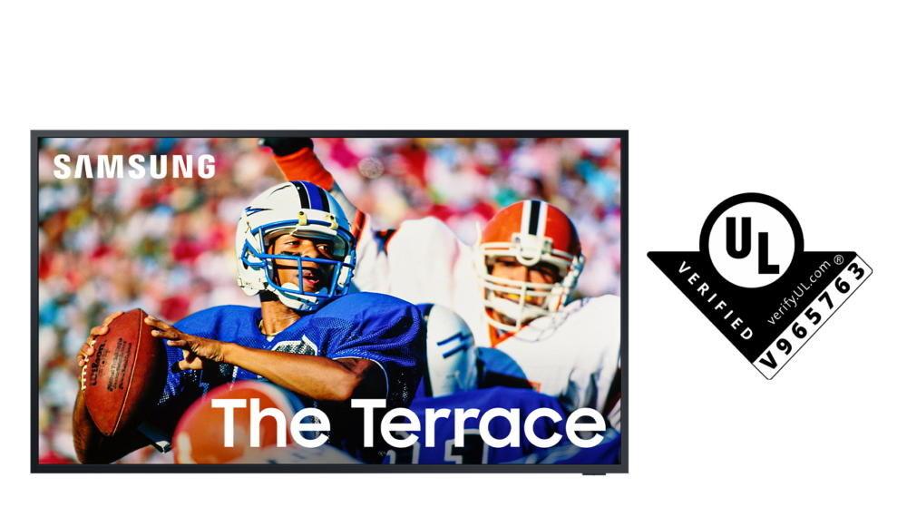 TV Samsung The Terrace đạt chứng nhận Hiệu suất Hiển thị Ngoài trời