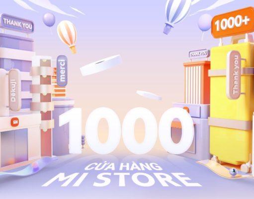 Xiaomi đón chào sự kiện cán mốc 1000 Mi Store cùng Mi Fans trên toàn thế giới