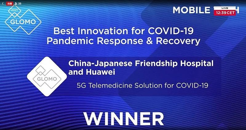 Khám bệnh từ xa nhờgiải pháp mạng 5G của Huawei giành giải thưởng