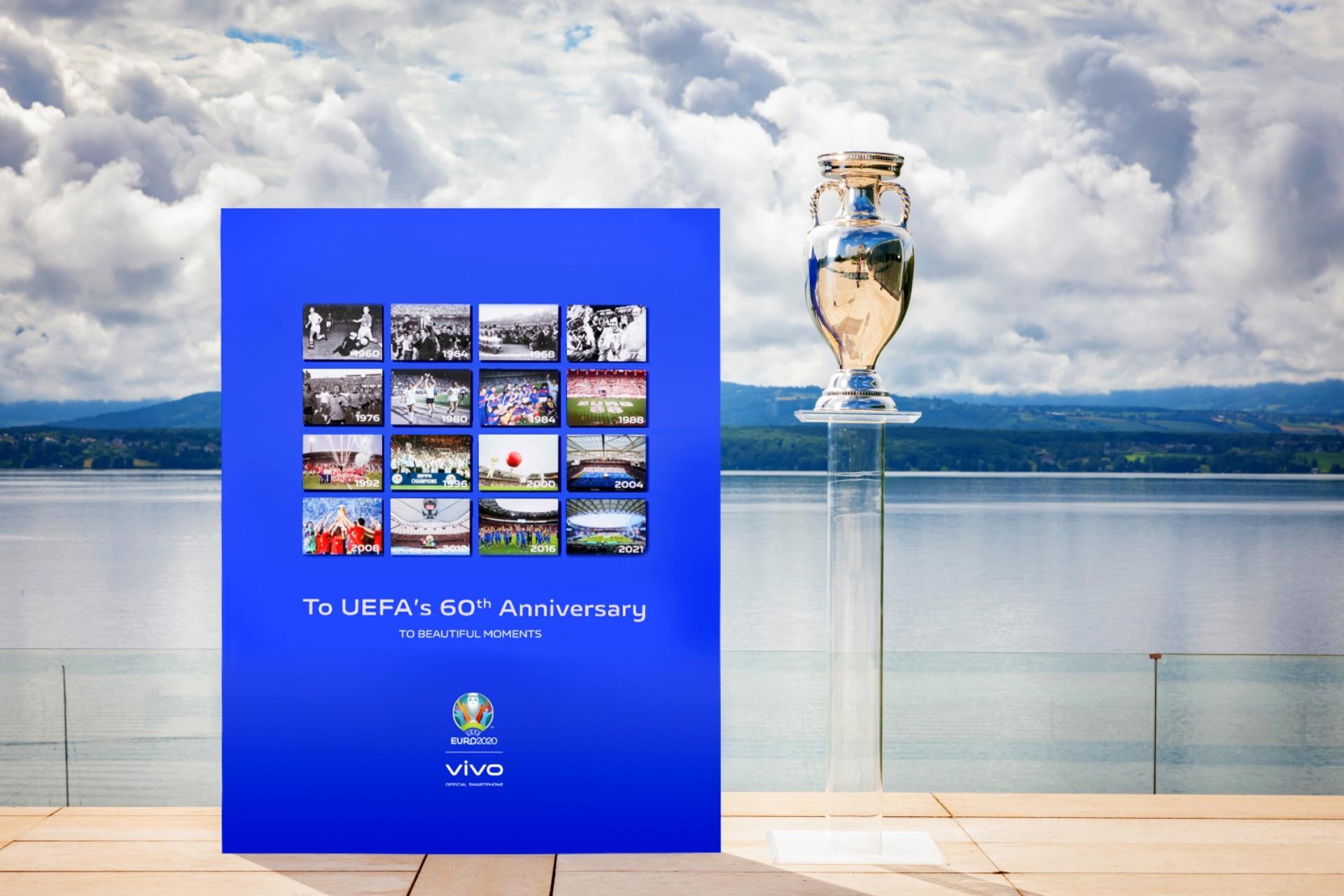 Thương hiệu vivo đồng hành tại Lễ Bế mạc UEFA EURO 2020