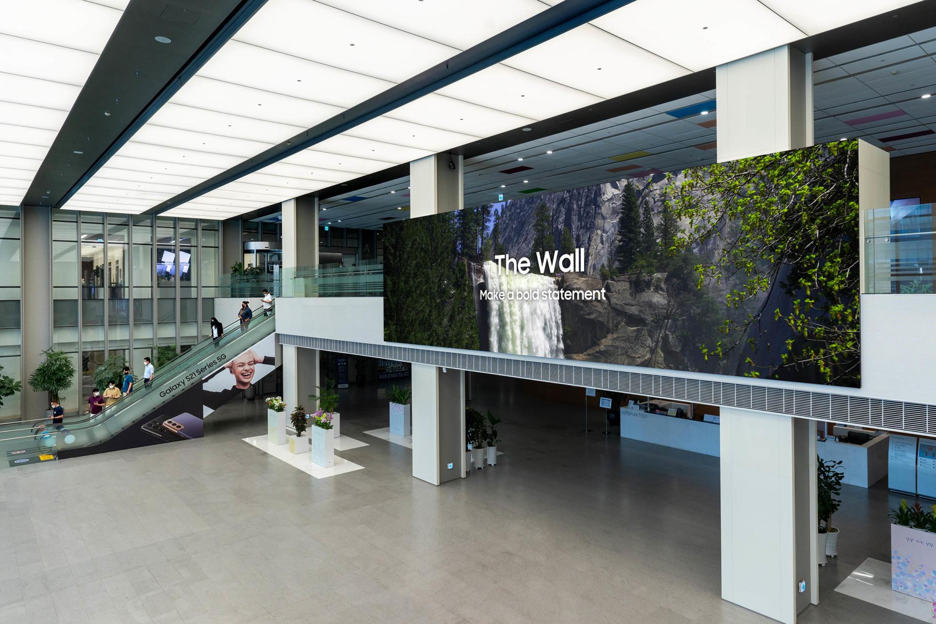 Samsung ra mắt màn hình The Wall 2021 trên toàn cầu