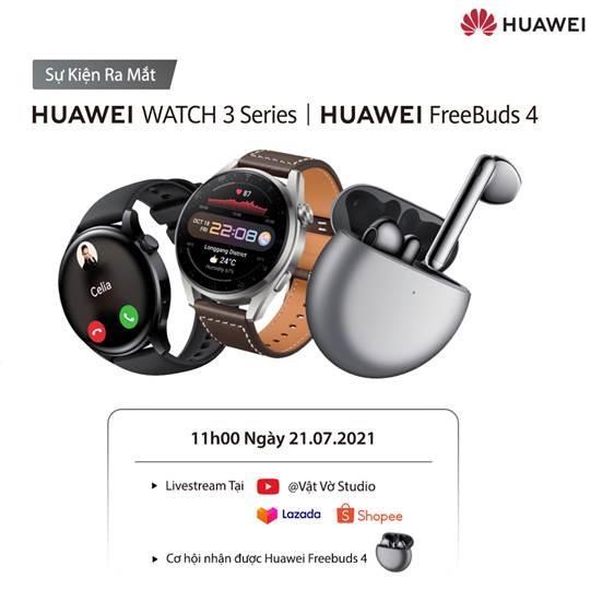 Huawei Watch 3 và Watch 3 Pro ra mắt, giá từ 10 triệu đồng