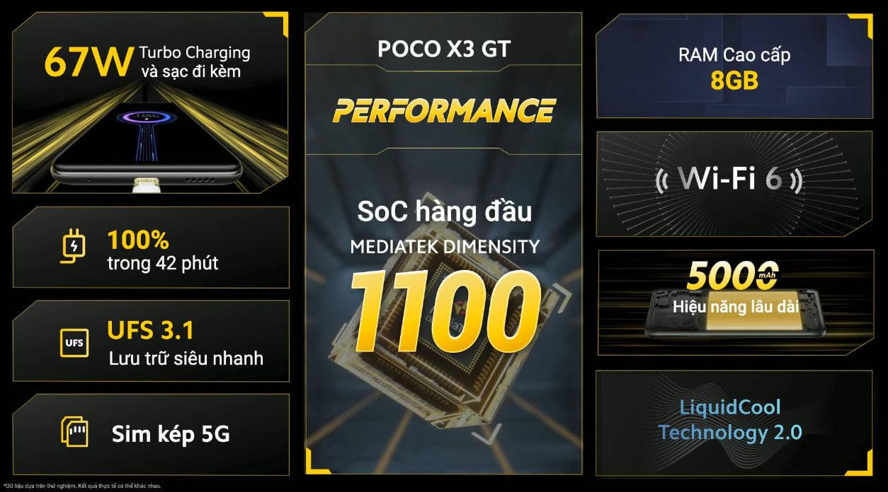 POCO X3 GT lên kệ hôm nay, giá 8 triệu đồng