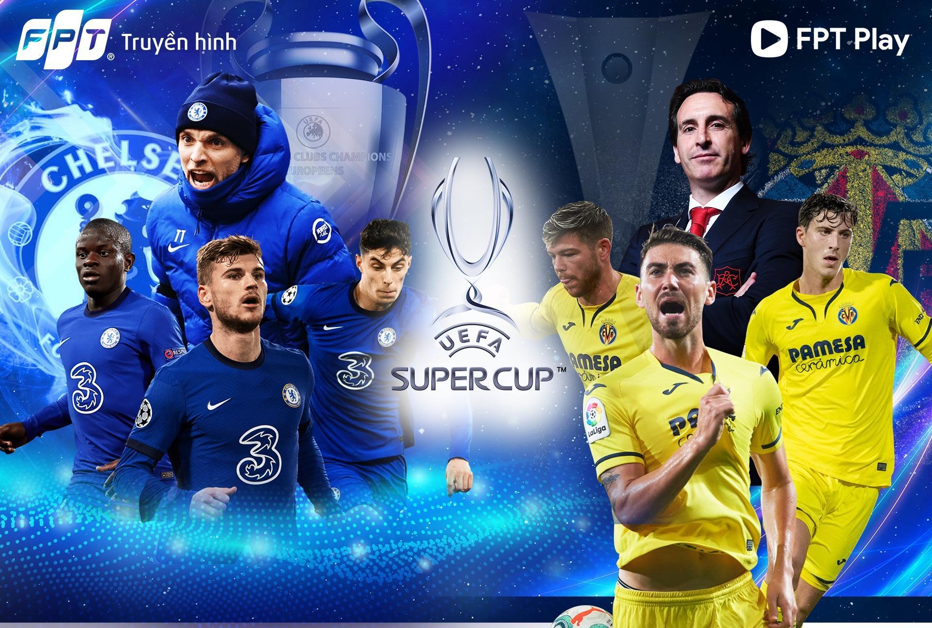 FPT độc quyền bản quyền các giải đấu cấp CLB thuộc UEFA