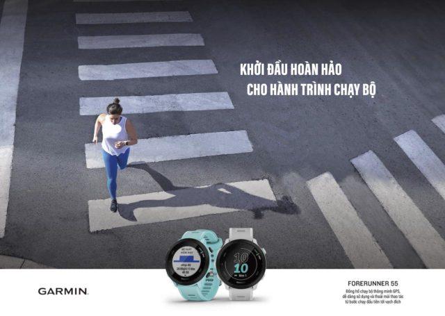 Garmin GPS Forerunner 55 ra mắt, giá 5 triệu đồng