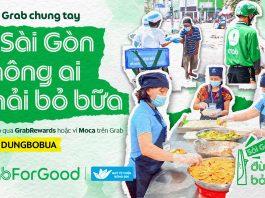 Grab Việt Nam thực hiện chương trình 'Sài Gòn ơi, đừng bỏ bữa'