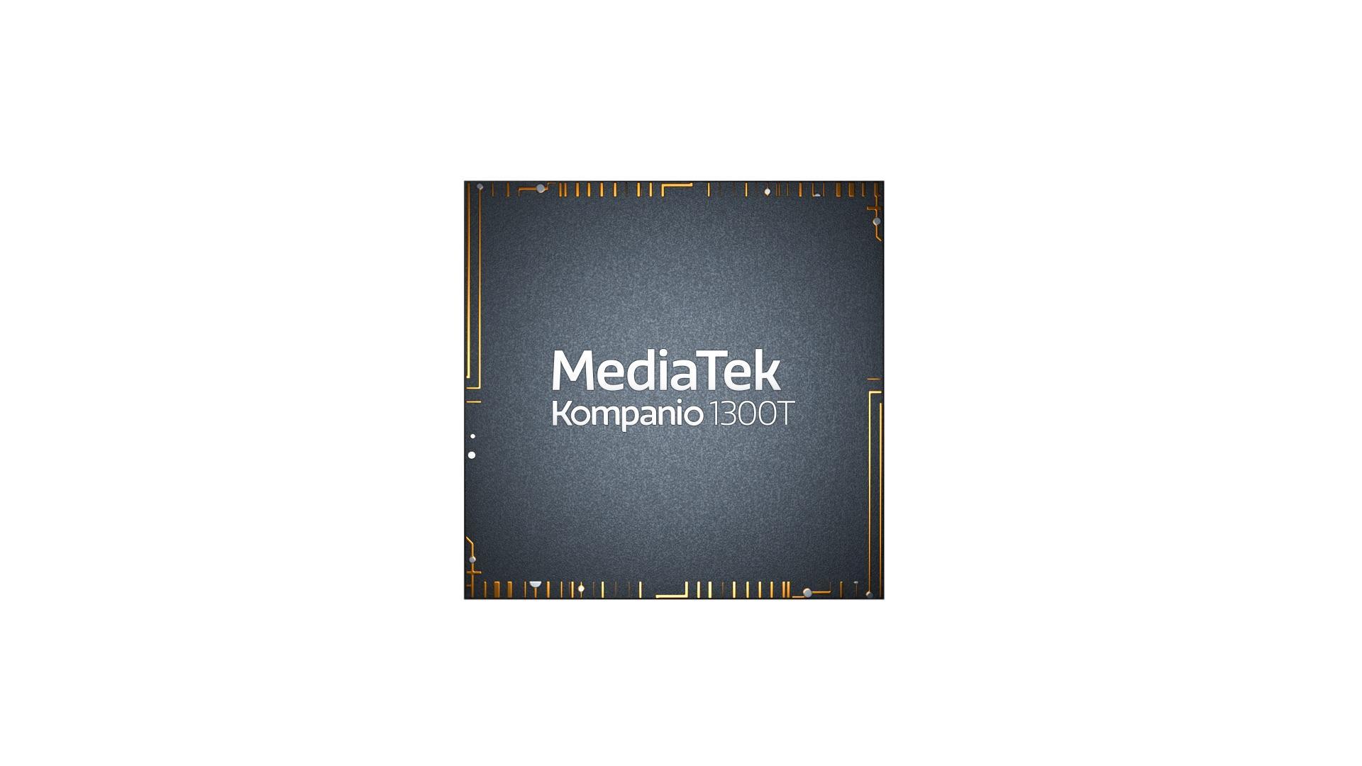 MediaTek ra mắt nền tảng Kompanio 1300T cho máy tính bảng