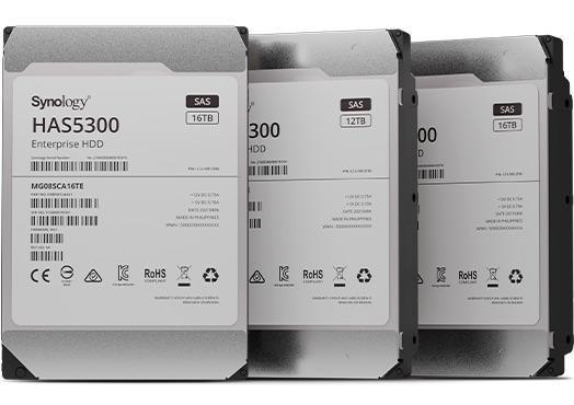 Synology ra mắt ổ cứng dành cho doanh nghiệp HAS5300 SAS