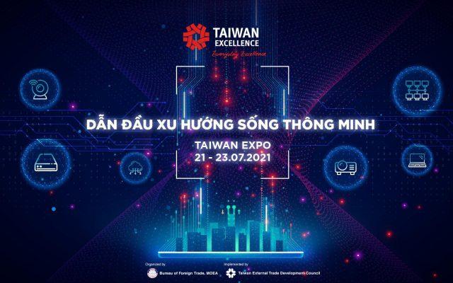 Taiwan Excellence tổ chức triển lãm 3D trực tuyến Taiwan Expo Vietnam 2021
