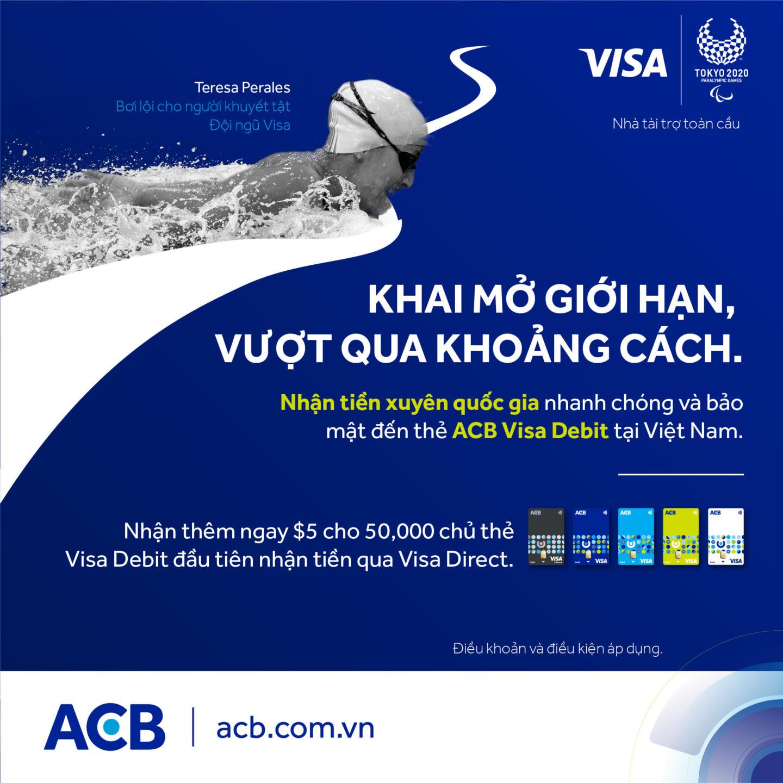 Nhận kiều hối đơn giản qua thẻ Visa Debit với giải pháp Visa Direct