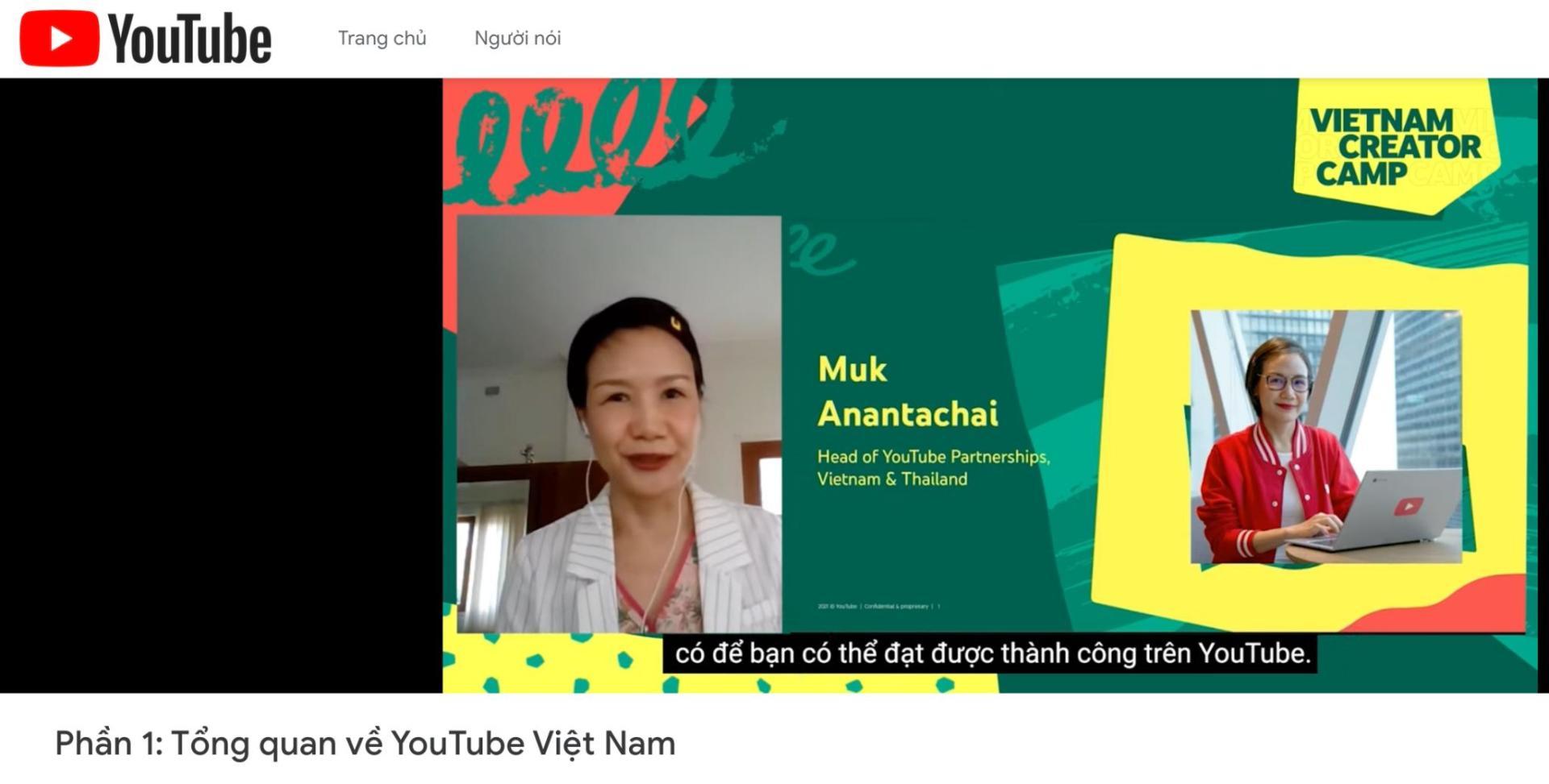 Sự kiện YouTube Creator Camp 2021 hỗ trợ cộng đồng nhà sáng tạo Việt Nam trong bối cảnh Covid-19