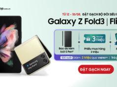 FPT Shop ưu đãi 6,4 triệu cho khách đặt trước Galaxy Z Fold3 | Flip3 5G