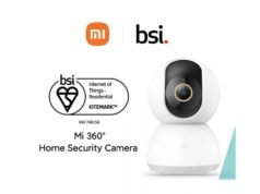 Mi 360 Home Security Camera và Xiaomi Home đạt Chứng nhận BSI Kitemark