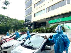 Grab Việt Nam triển khai đội xe phục vụ y tế, hỗ trợ công tác phòng chống dịch Covid-19 tại Hà Nội