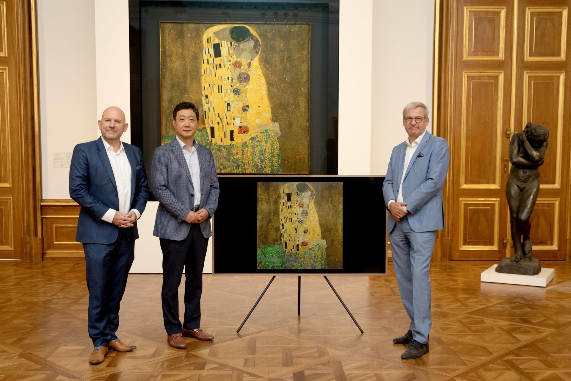 Thưởng thức kiệt tác của danh họa người Áo trên TV Samsung The Frame