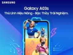 Mở bán Samsung Galaxy A03s, giá 3,7 triệu đồng
