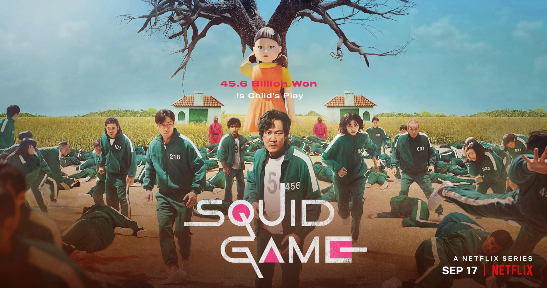 Poster và Trailer phim Trò chơi con mực (Squid Game) từ Netflix