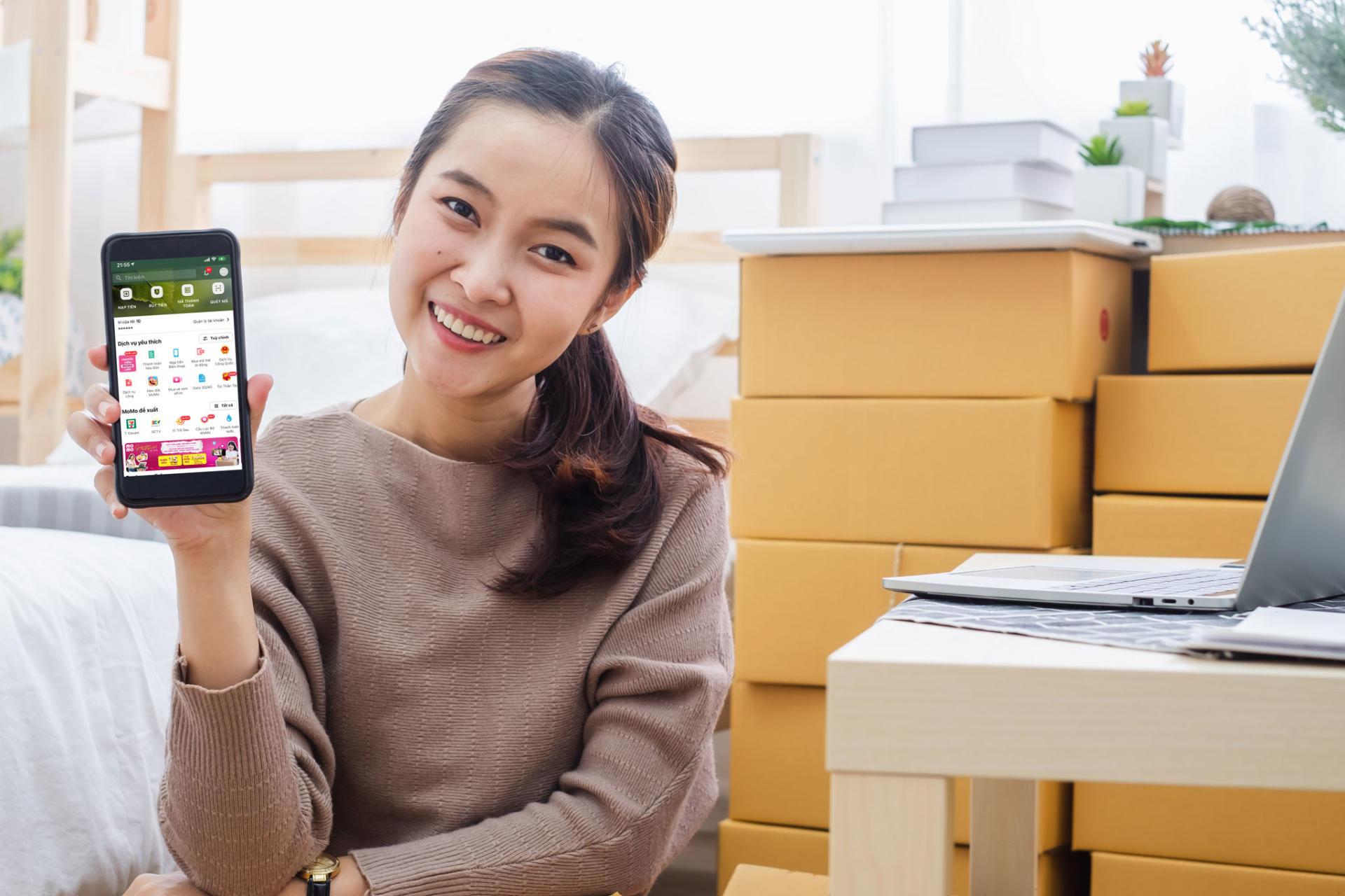 Nhận tiền bằng MoMo - nhận thêm quà thiết thực giúp nhau vượt qua dịch
