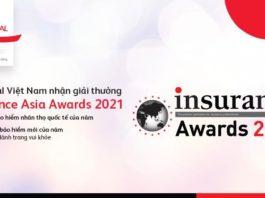 Prudential được vinh danh bởi Insurance Asia Awards 2021