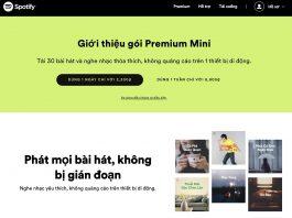 Spotify ra mắt gói đăng ký hàng ngày và hàng tuần Premium Mini