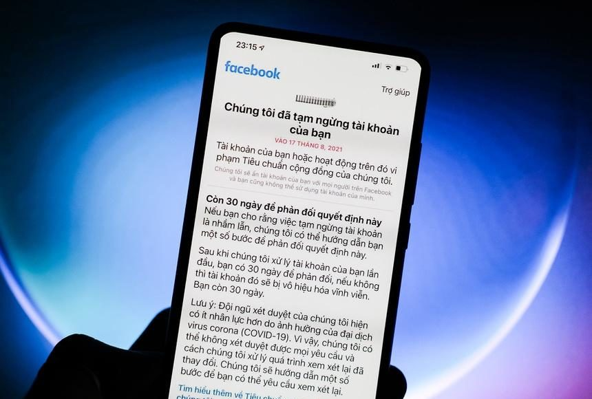 Nhiều tài khoản Facebook tại VN bị khóa vì chia sẻ clip khiêu dâm