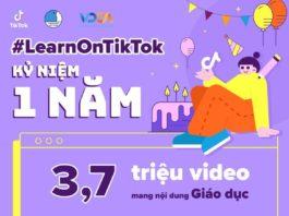 TikTok tổ chức chương trình kỷ niệm 1 năm #LearnOnTikTok
