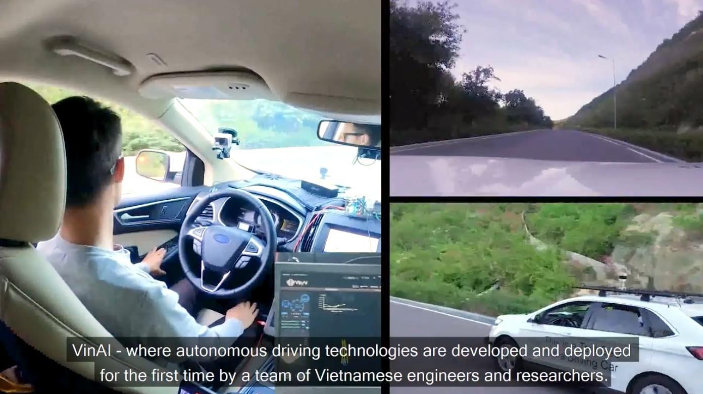 VinAI công bố 3 sản phẩm công nghệ cho ô tô thông minh tại Ngày Trí tuệ Nhân tạo 2021
