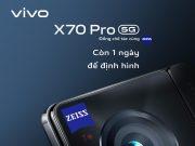 Còn 1 ngày trước thềm ra mắt flagship X70 Pro nhà vivo