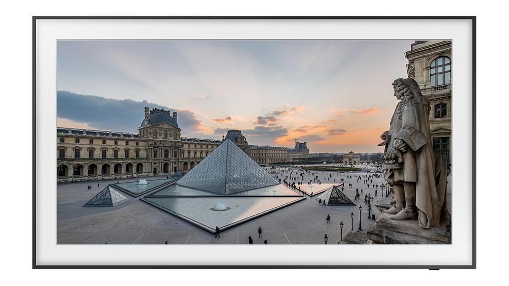 Ngắm nàng Mona Lisa trên TV The Frame của Samsung từ Bảo tàng Louvre