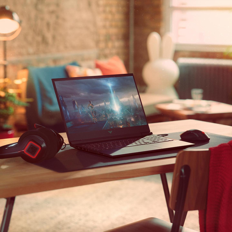 HP ra mắt laptop Victus mới hướng tới game thủ phổ thông