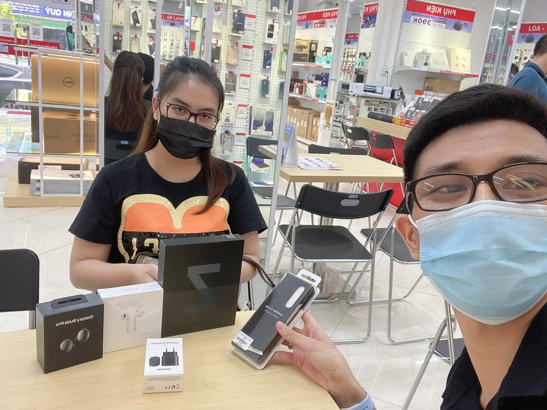 CellphoneS mở bán gần 1500 đơn cọc Galaxy Z Fold3, Z Flip3