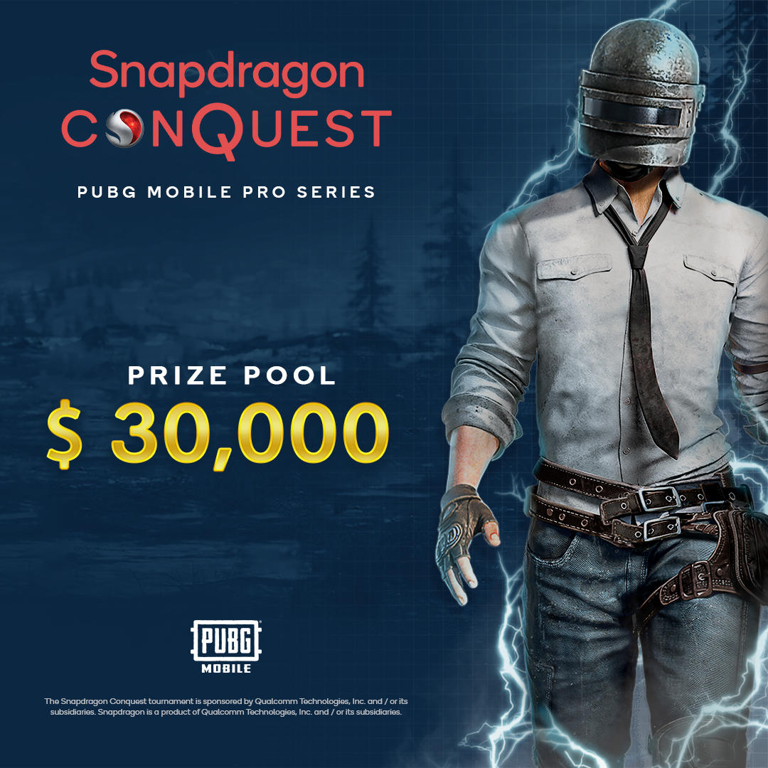 Qualcomm Technologies giới thiệu giải đấu Snapdragon Conquest PUBG Mobile Pro Series tại Indonesia và Việt Nam