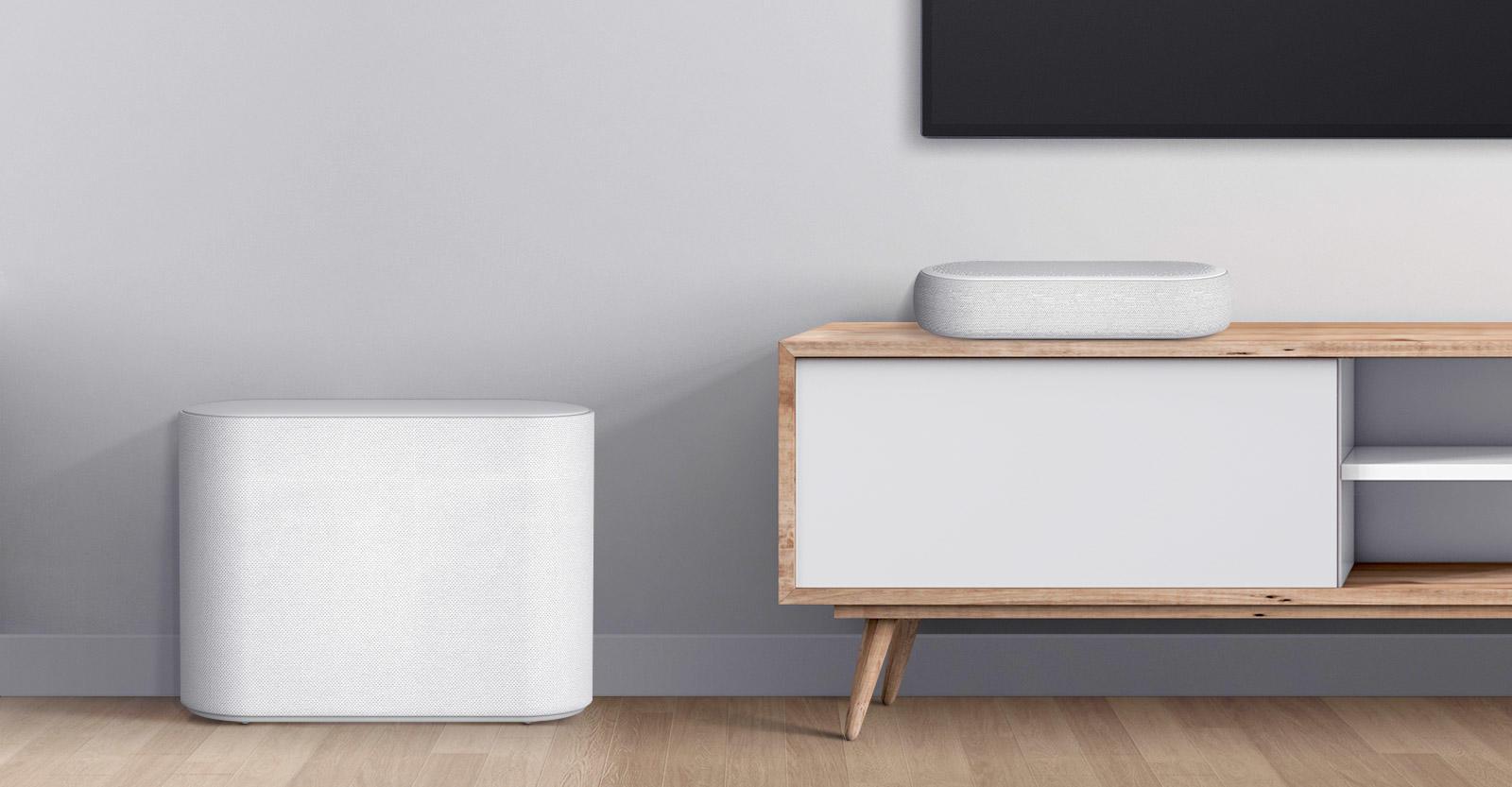 Ra mắt LG Éclair, soundbar lấy cảm hứng từ chiếc bánh ngọt