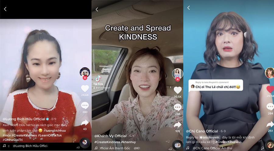 Cộng đồng sáng tạo video lan toả những điều tử tế trên TikTok