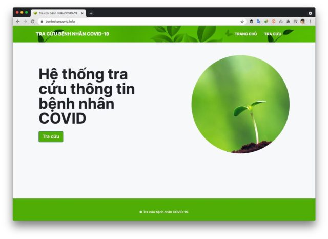 Thí điểm ứng dụng 'Tìm người thân - Danh sách người mất vì Covid-19'