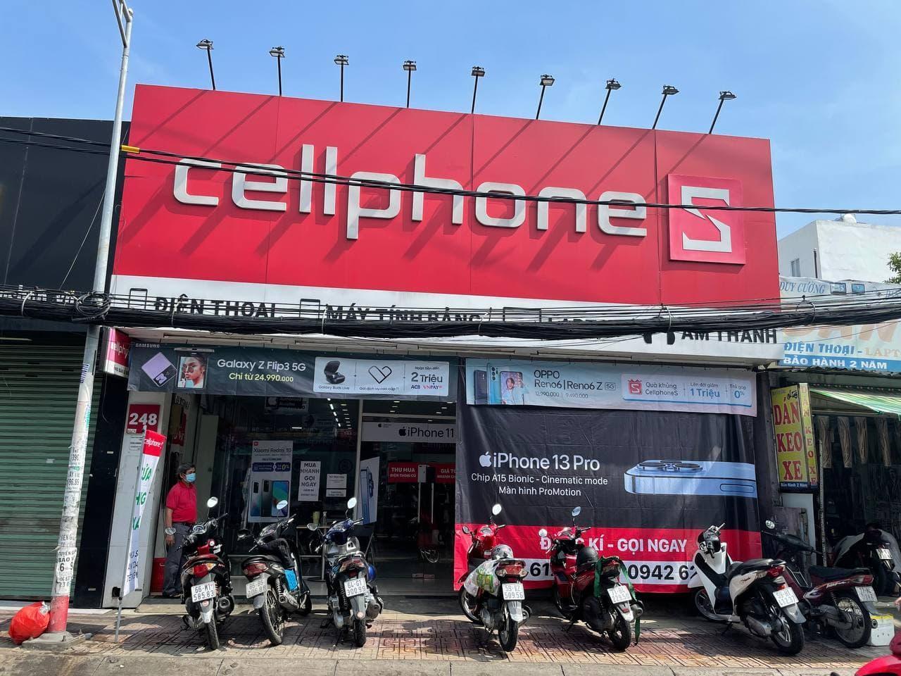 CellphoneS hoạt động trở lại sau giãn cách