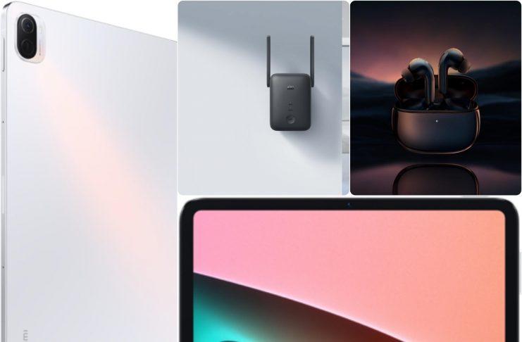 Ra mắt Xiaomi Pad 5, FlipBuds Pro và Mi WiFi Range Extender AC1200