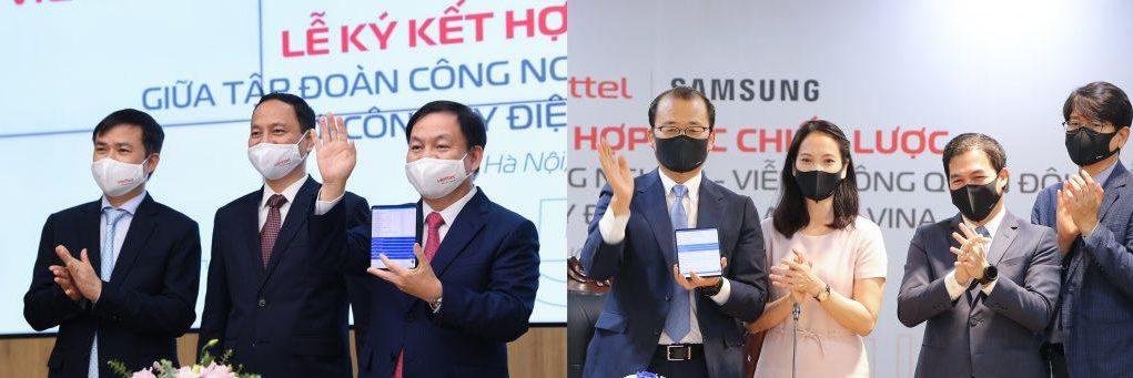 Samsung và Viettel ký kết hợp tác chiến lược thúc đẩy chuyển đổi số