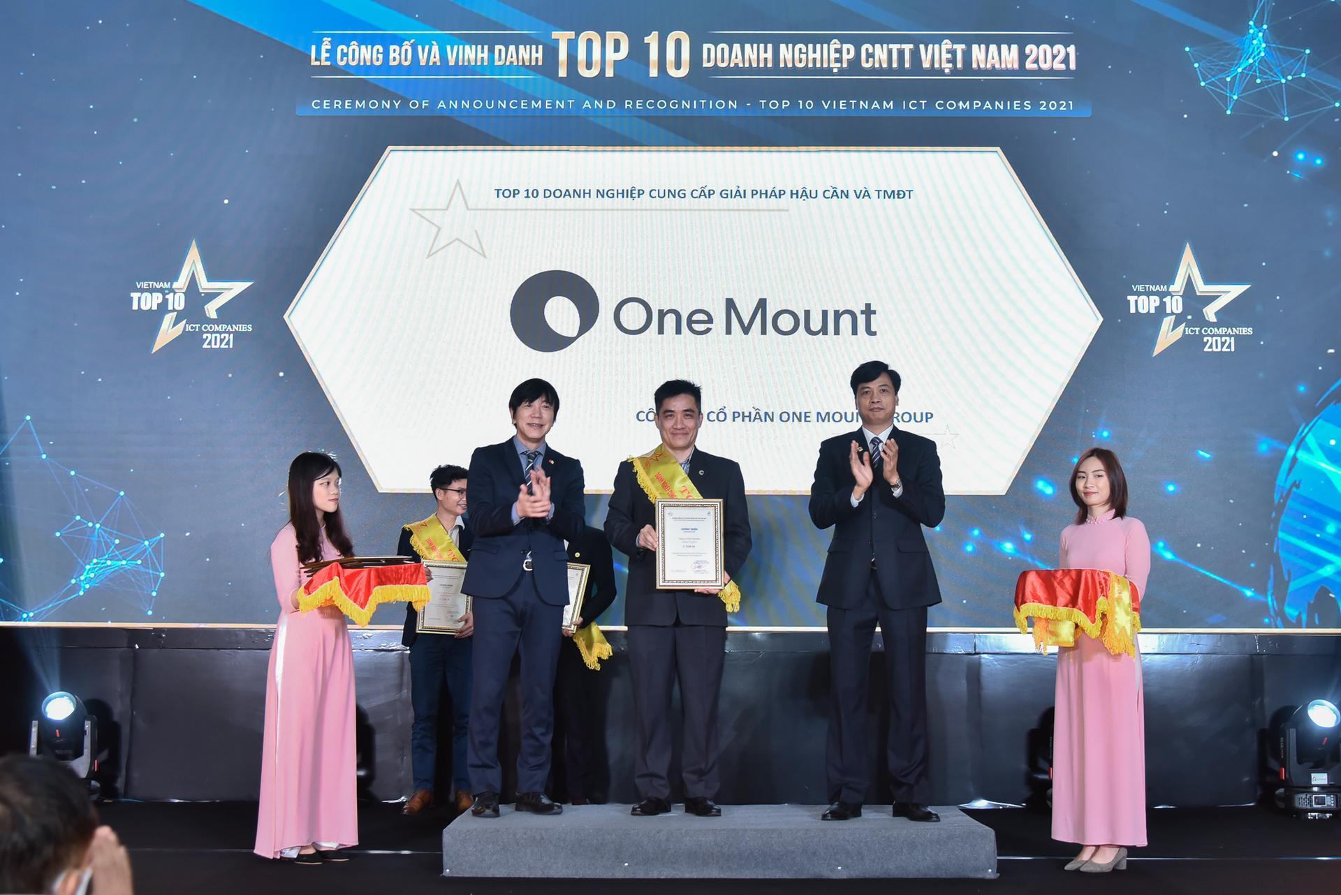 One Mount nhận hai giải thưởng danh giá, đánh dấu hành trình hai năm phát triển