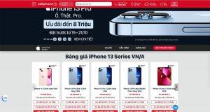 CellphoneS công bố giá mở đặt trước iPhone 13 chính hãng tại thị trường Việt Nam