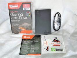 Seagate FireCuda Gaming Hard Drive RGB: Ổ cứng di động dung lượng cao cho game thủ