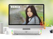SoundMax SB-201: nâng tầm trải nghiệm Soundbar di động
