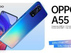 Ra mắt OPPO A55 với camera AI 50MP, giá 5 triệu đồng