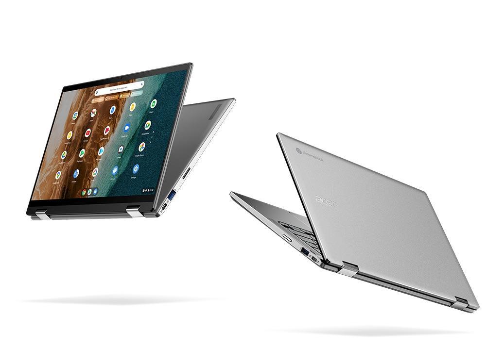 Acer Chromebook Spin 514 (14 inch) có thể chuyển đổi khi đang di chuyển cho hội nghị truyền hình